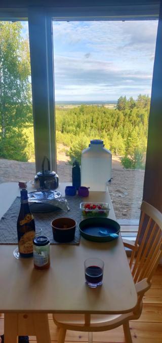 Middag i Utsikten